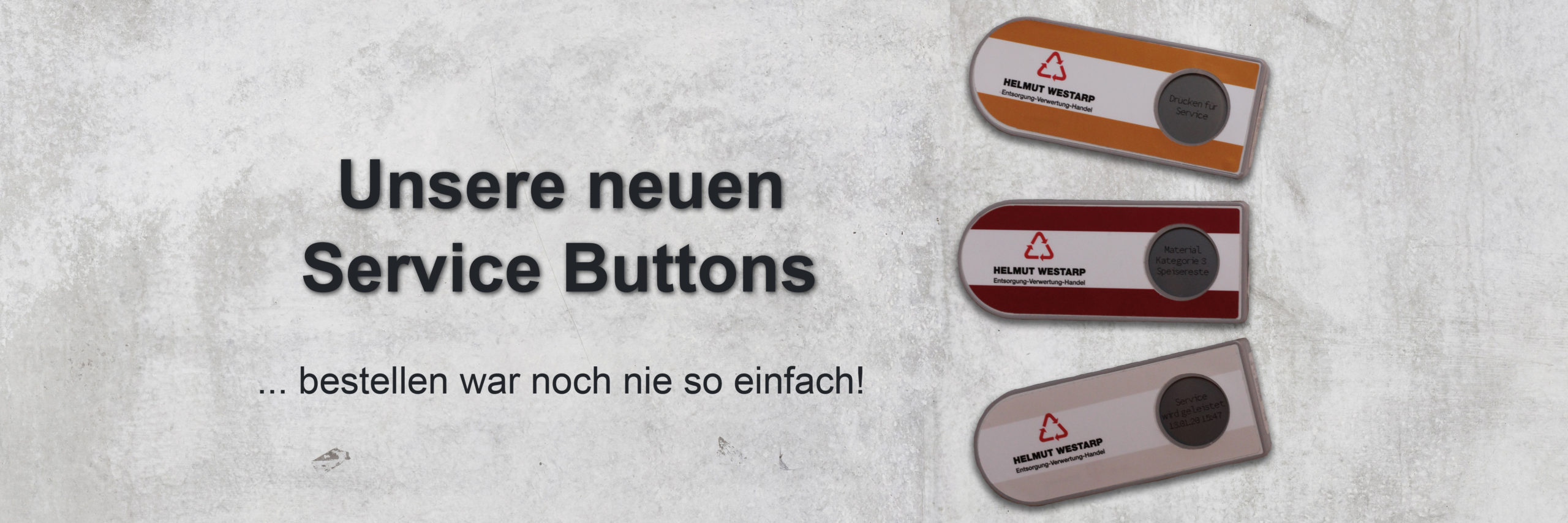 Service Button Helmut Westarp